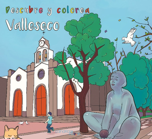 Imagen 1 de 1 de Descubre Y Colorea Valleseco
