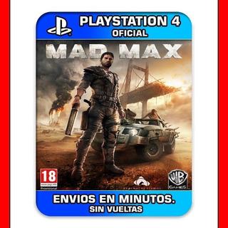 Mad Max Ps4 Subtitulado Al Español 2