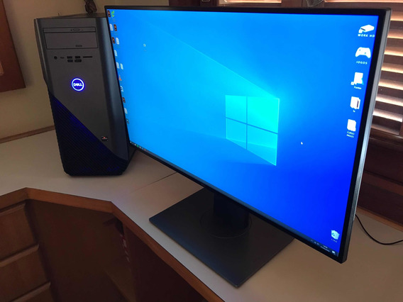 Dell Inspiron 5676 Gamer + Monitor Dell 4k 27 Pol U2718q