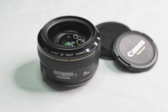 Lente Canon 28mm F/ 1.8 Ef Usm Ultrasonic