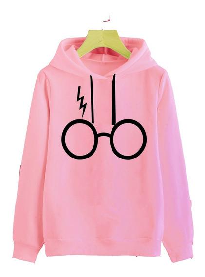Buzo Buso Mujer Gafas Harry Potter