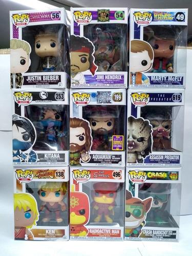 Funko Pop Varios Personajes Figuras De 12cm Bunny Toys