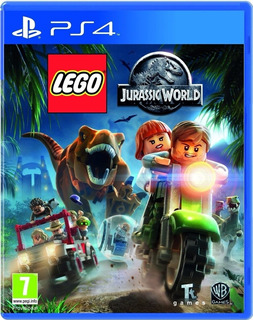 Lego Jurassic World Ps4 Fisico - Audiojuegos