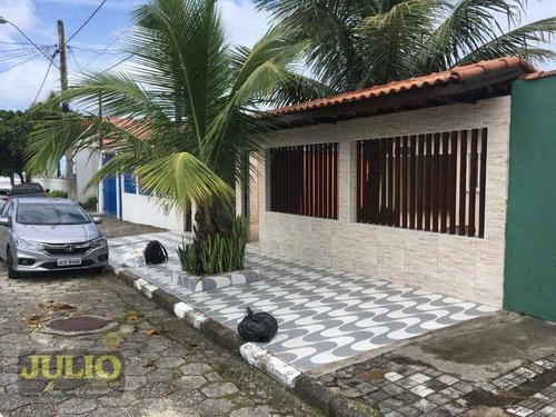 Imagem 1 de 26 de Entrada R$ 74 Mil E Saldo Financiado! Casa Com 4 Dormitórios, 122 M² Por R$ 370.000 - Jussara - Mongaguá/sp - Ca4325