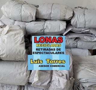 Lonas Recicladas Pvc Calibre 13oz 12.9x7.3 Mts