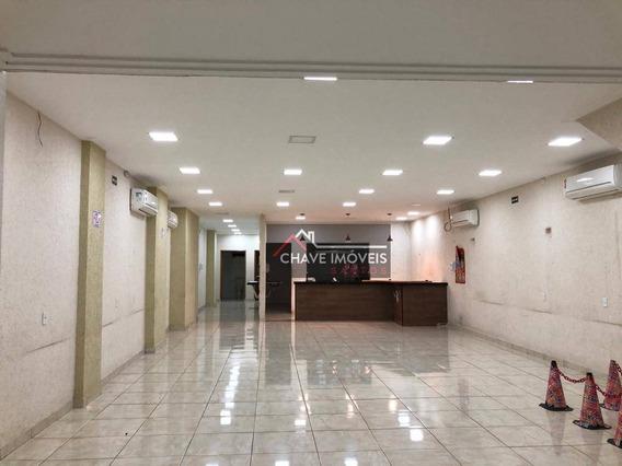 Loja Para Alugar, 199 M² Por R$ 4.500,00/mês - Centro - Santos/sp - Lo0109