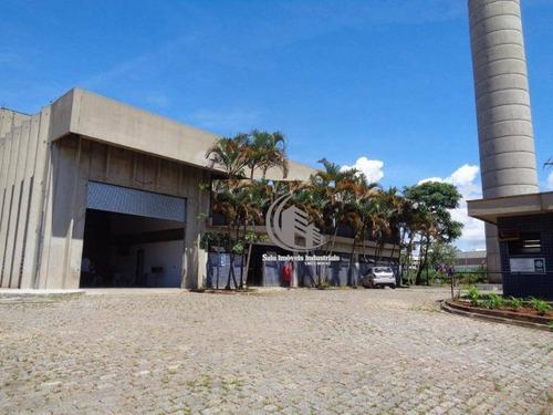 Galpão Para Alugar Com Ponte Rolante E Cabine Primaria, 4287 M² Por R$ 115.000/mês - Jardim Fátima - Guarulhos/sp - Ga0546