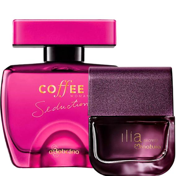 2 Perfume Coffee Woman Seduction Ilía Secreto Oferta