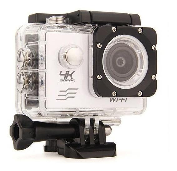 Câmera 4k Sports 30fps Hd 1080p 720p Dv Wifi + Self Monopod