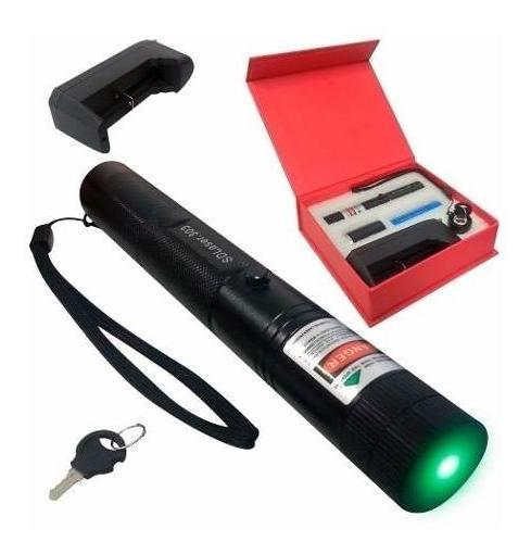 Caneta Laser Pointer Verde 100mw Forte