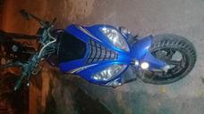 Scooter Azul Con Negro