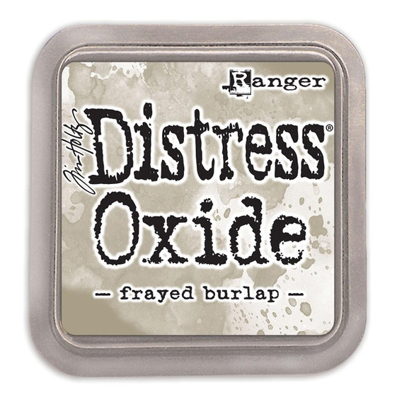 Tinta Distress Oxide Scrapbook Ranger Frayed Burlap