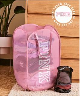 Cesto De Ropa Pink Original