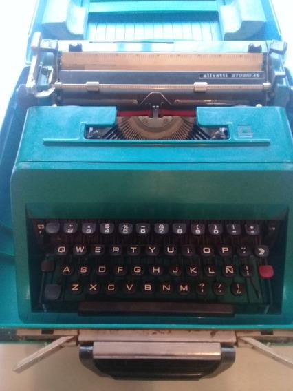 Maquina De Escribir Olivetti Studio 45