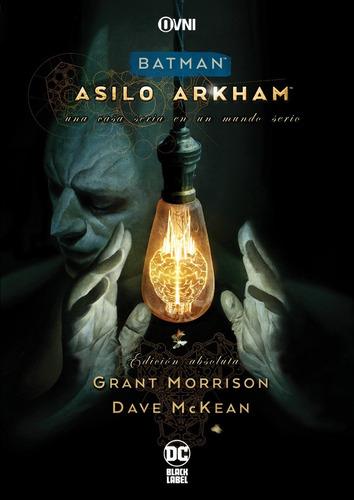 Imagen 1 de 1 de Cómic, Dc, Batman: Asilo Arkham Edicion Absoluta Ovni Press