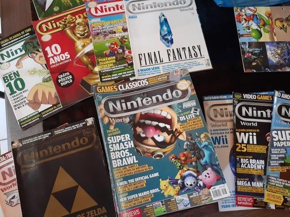 48 Revistas Nintendo World + Brindes