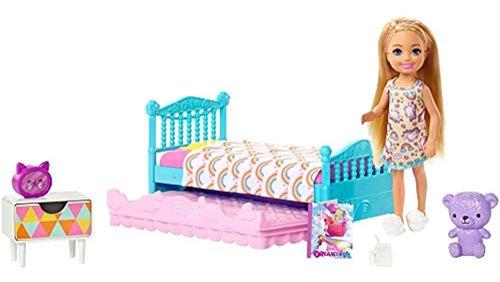 Juguete Niña Barbie Dormitorio Barbie Club Chelsea Toy 6.0i