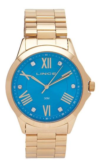 Relógio Lince Feminino Lrgj046l A3kx Dourado