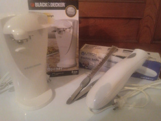 Abrelatas Black Decker-cuchillo Eléctrico Utech Valor 45 V
