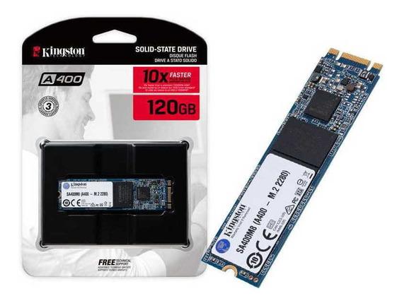 Ssd M.2 Desktop Notebook Kingston Sa400m8/120g A400 120gb M