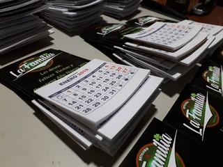 Magnéticos Publicitarios Con Calendario 2020 - 100 Unidades