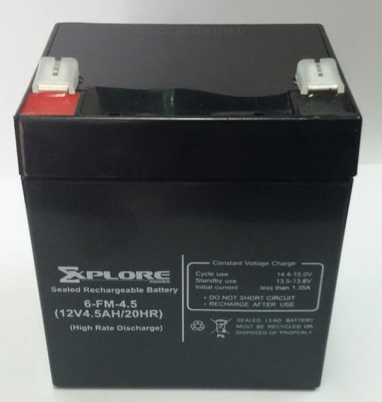 Bateria Recargable 12v 4.5ah Explore 6-fm-4.5 (nueva)