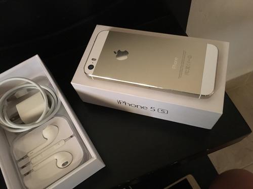 iPhone 5s Dorado 16gb Con Caja