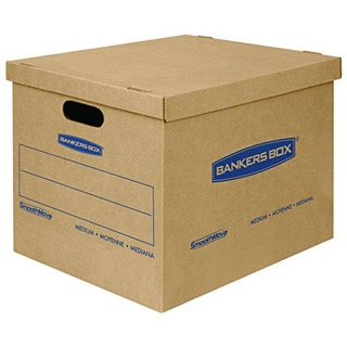 Banca Caja Smoothmove Classic Moving Boxes Tapefree Assembly