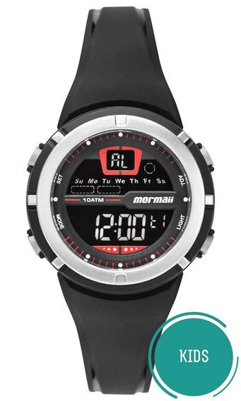 Relógio Mormaii Unissex Wave Mo2600ab/8r Negativo Digital