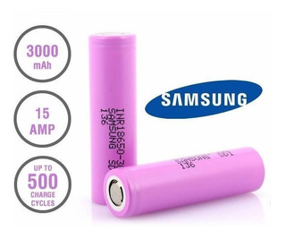 2x Bateria Samsung Inr18650 30q 3000mah 15a Original+capa