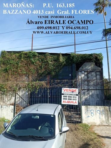Maroñas: Local 1.512 M2* Bazzano 4013 Y Gral. Flores