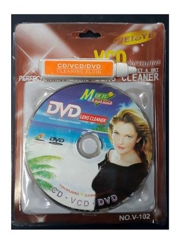 Imagen 1 de 3 de Cleaner Mini Dvd Lens Cleaner Dvd, Mini Dvd, Ps2 Y Xbox