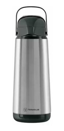Garrafa Termica Pressao 1,8l Inox Lumina Termolar 54736