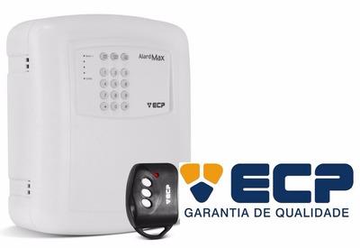 Central De Alarme Ecp 1 Setor Alard Max1 + Controle