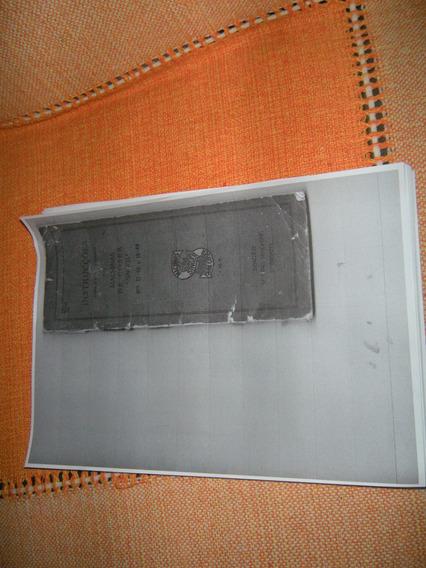 Xerox Do Manual Da Maquina De Costura Singer Antiga.