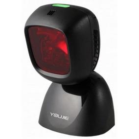Leitor Scaner Laser Fixo Honeywell Youjie Yj5900 Usb Preto