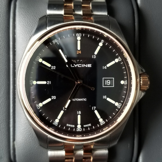 Glycine Combat 6 Automático 43mm Swiss Made Two-tone