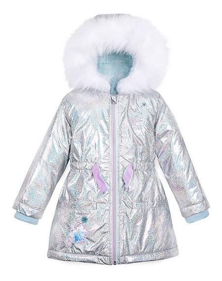 Casaco Infantil Impermeável Frozen Elsa Disney Store