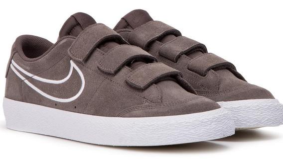 Zapatillas Nike Sb Blazer Velcro Abrojo Original Importada