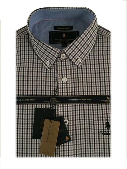Polo Club Camisa Rayada Hombre W18019
