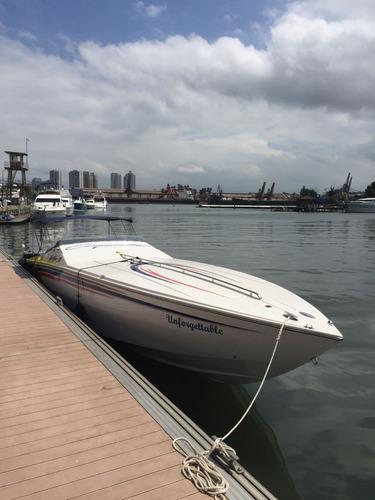 Imagem 1 de 14 de Superboats Top Gun 38 Diesel Alta Velocidade Econômica