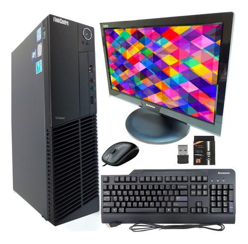Imagem 1 de 6 de Computador Completo I5 4gb Hd320 + Monitor + Wi-fi + Windows