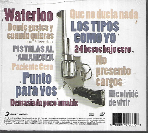 Ivan Noble Album Pistolas Al Amanecer Sello Sony Cd Sellado Mercado Libre