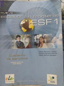 4 Livros De Espanhol Sin Fronteiras- Usado Em Bom Estado