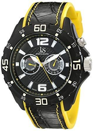Relojes De Pulsera,joshua Y Sons Hombres S Reloj Multifu..