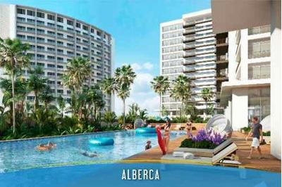Desarrollo Brezza Towers. Departamentos De Lujo. Tipo A. 110 M2 De 2 Recs. El Table, Cancún