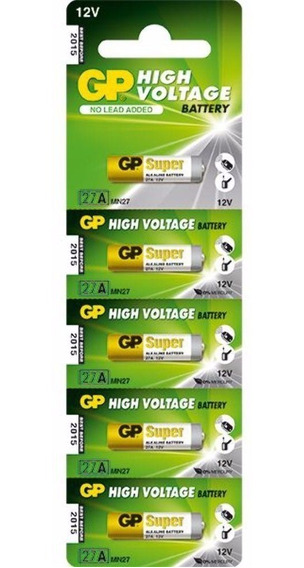 Bateria Gp 27a Mn2 12v 5un 27 A 27af-2c5