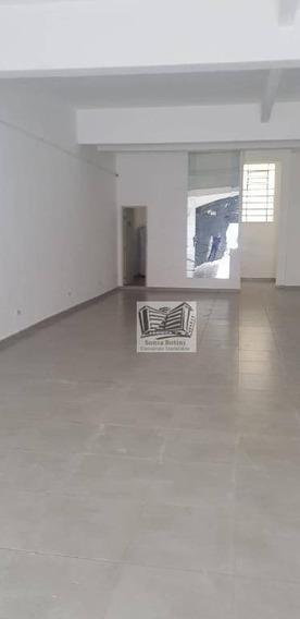 Salão Para Alugar, 128 M² Por R$ 4.500,00/mês - Mooca - São Paulo/sp - Sl0037
