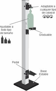 Dispensador Para Gel Antibacterial De Pedal - Envío Gratis