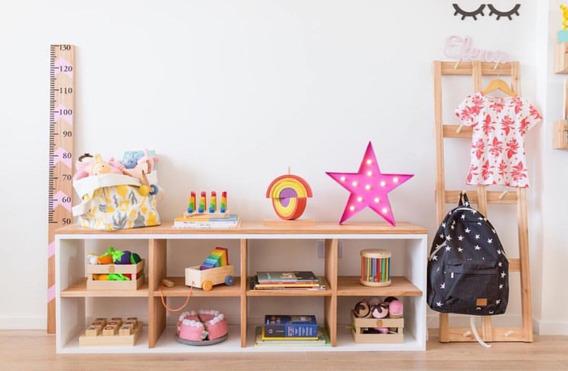 Mueble Niños. Comoda Estilo Nórdico. Montessori.